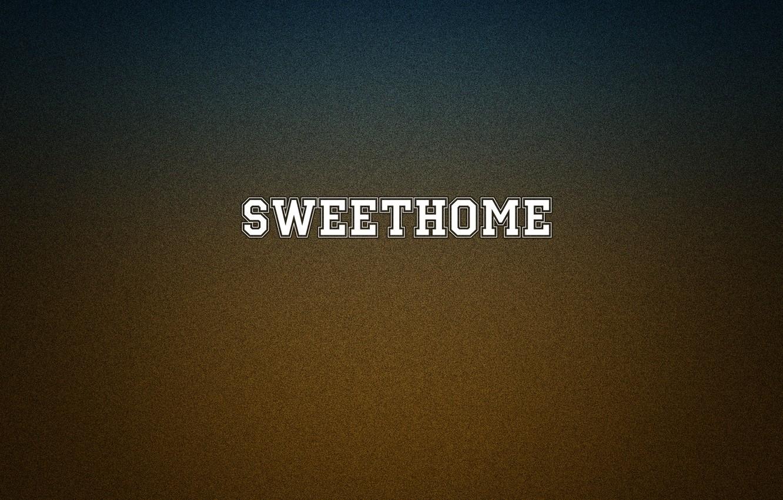 Photo wallpaper comfort, house, heat, minimalism, beautiful, sweet, home