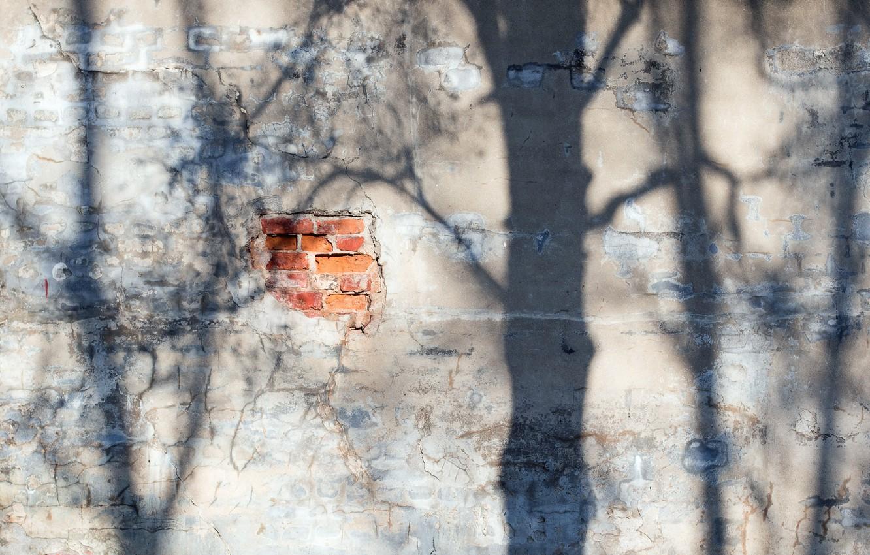 Photo wallpaper light, wall, shadow