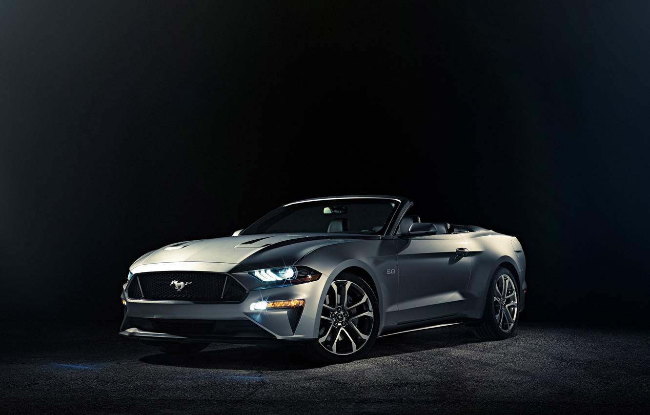Photo wallpaper background, Ford, Mustang, convertible, Ford