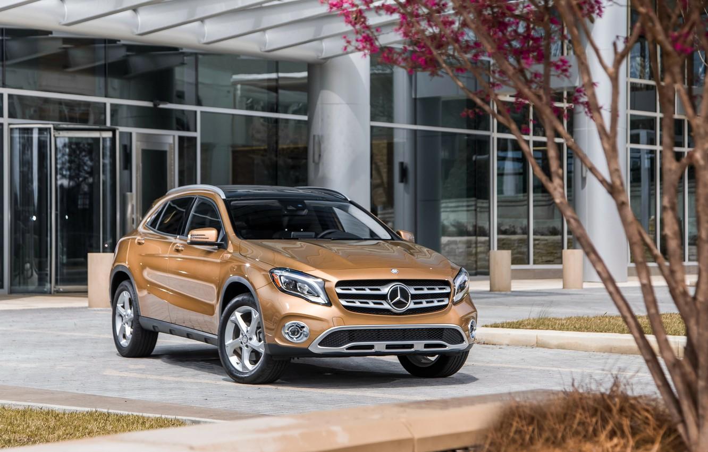 Photo wallpaper Mercedes-Benz, 2018, 250, GLA, 4MATIC