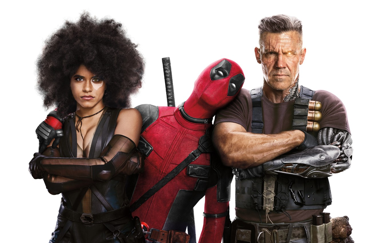 Photo wallpaper Ryan Reynolds, Cable, Zazie Beetz, Deadpool Deadpool 2, Josh-Brolin