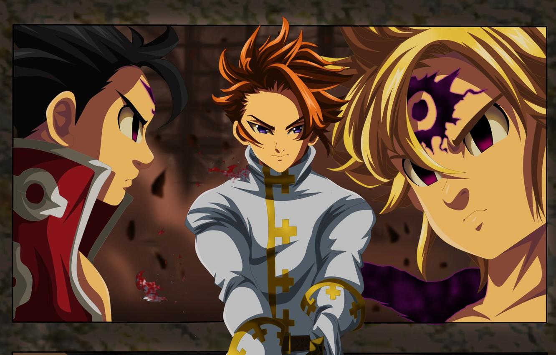 Photo wallpaper anime, Nanatsu no Taizai, The Seven Deadly Sins, japonese, by criszeldris1, Arthur Excalibur
