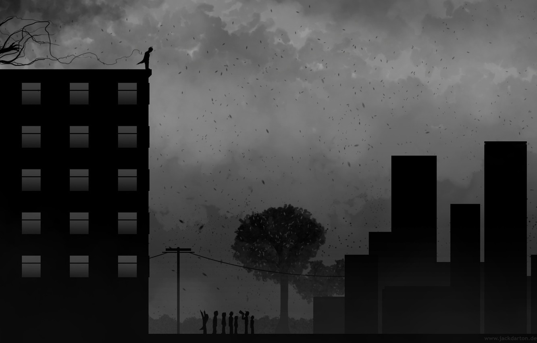 Wallpaper Dark Rain Depression Suicide Images For Desktop