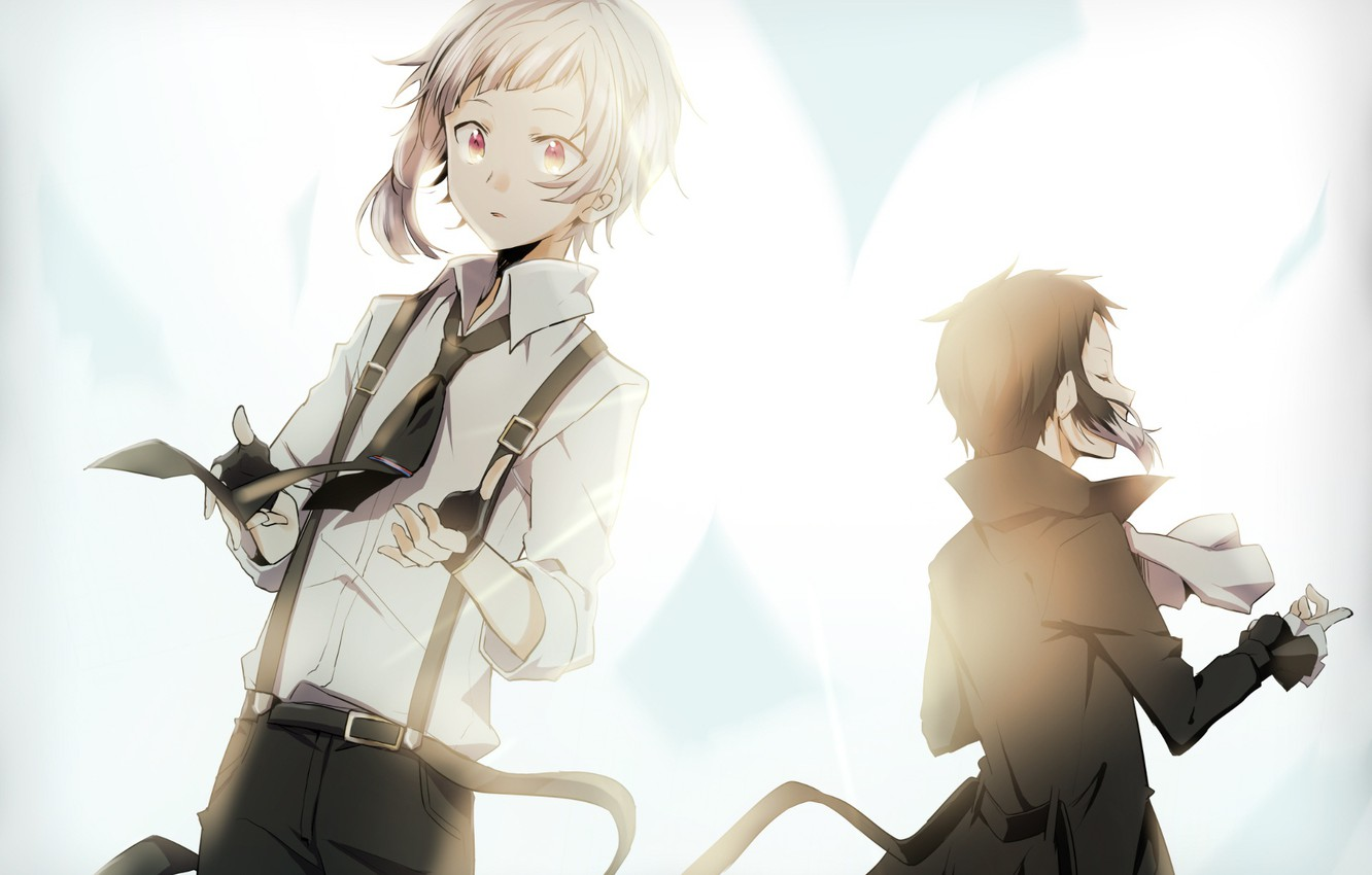 Photo wallpaper anime, art, Bungou Stray Dogs