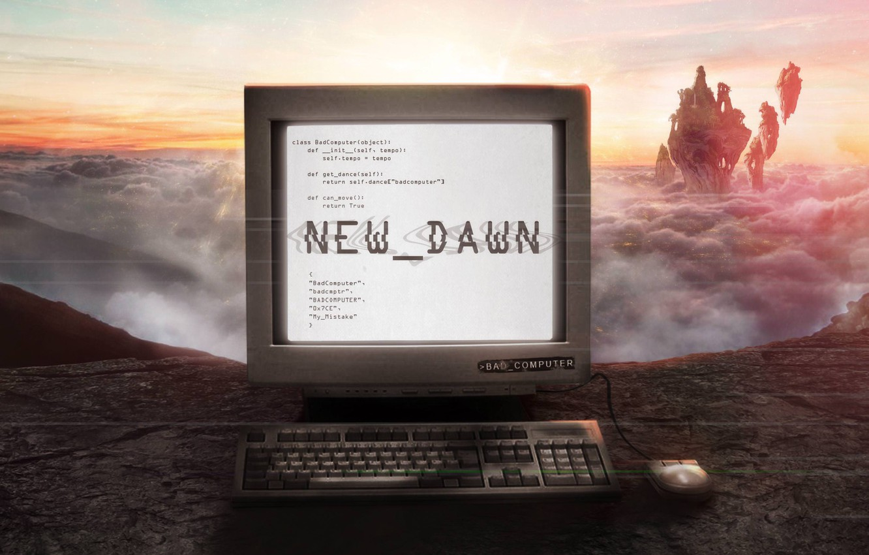 Photo wallpaper Music, Cover, Monstercat, Bad Computer, New Dawn