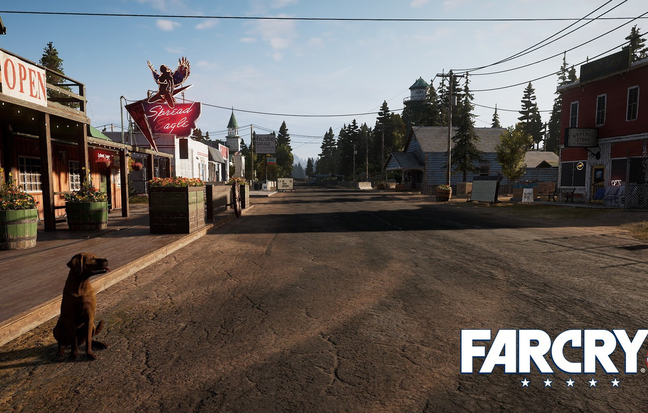 Wallpaper Road Dog Far Cry 5 Images For Desktop Section Igry