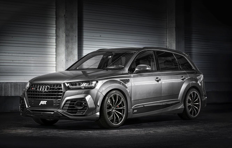 Photo wallpaper Audi, Audi, quattro, ABBOT, universal, SQ7