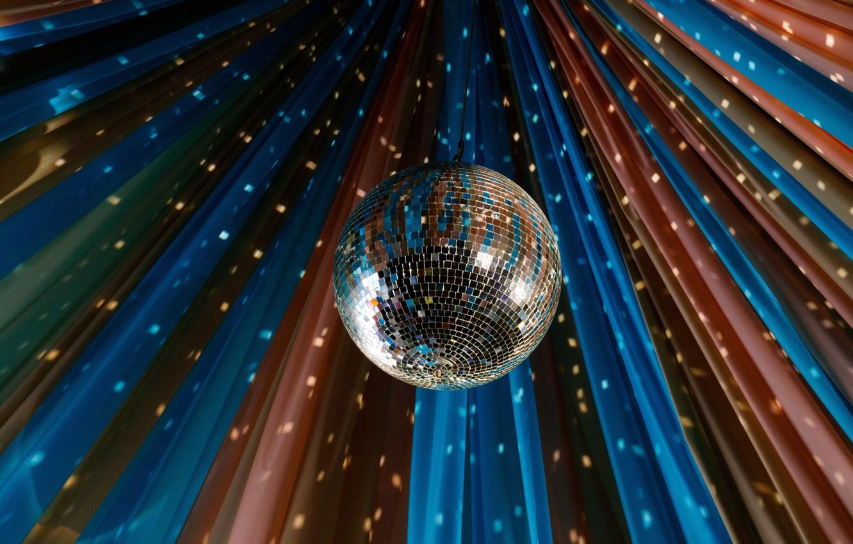 Photo wallpaper background, disco, Disco Ball