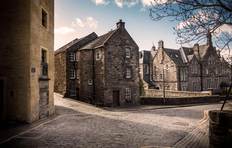 Photo wallpaper the city, Scotland, Edinburgh, United Kingdom