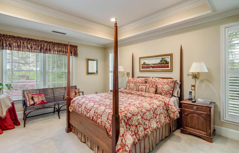 Photo wallpaper sofa, bed, bedroom, chest