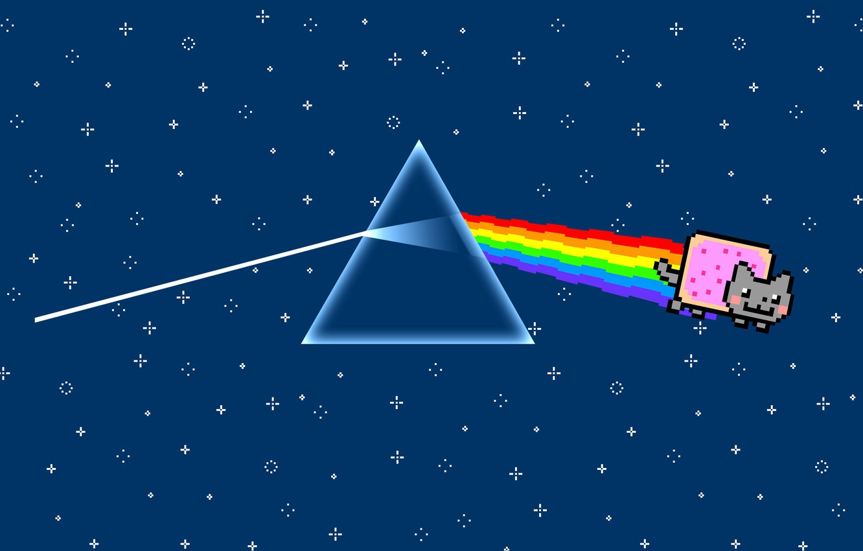 Wallpaper Music Triangle Pink Floyd Art Prism Rock Dark Side