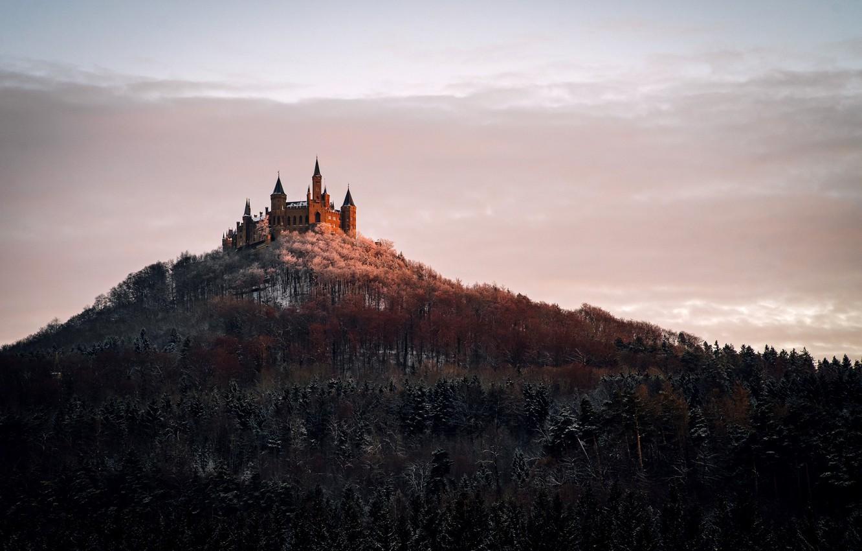 Photo wallpaper landscape, Germany, Castle Hohenzollern