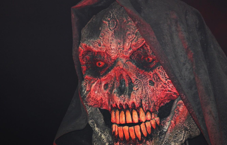 Photo wallpaper skull, teeth, nose, mask, Ghost, Sake, mask, Ghost