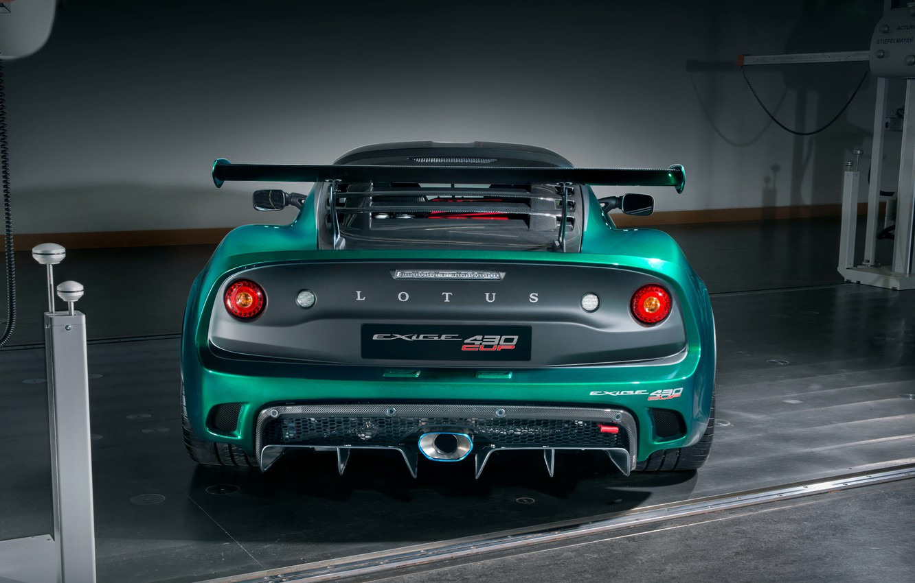 Photo wallpaper Lotus, rear view, Requires, 2018, Cup, 430