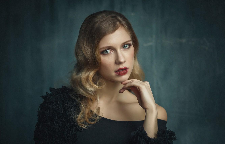 Photo wallpaper sponge, the beauty, Lisa, Elizabeth Podoynikova