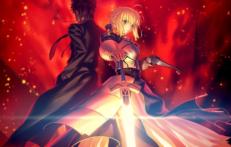 Photo wallpaper anime, art, guy, the saber, Fate/Grand Campaign, Fate / Grand Order