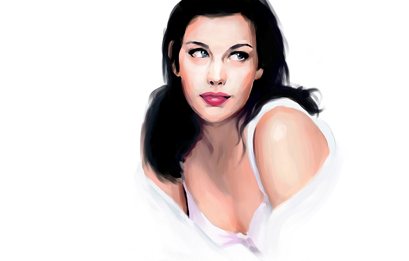 Photo wallpaper model, actress, Liv Tyler, Liv Tyler