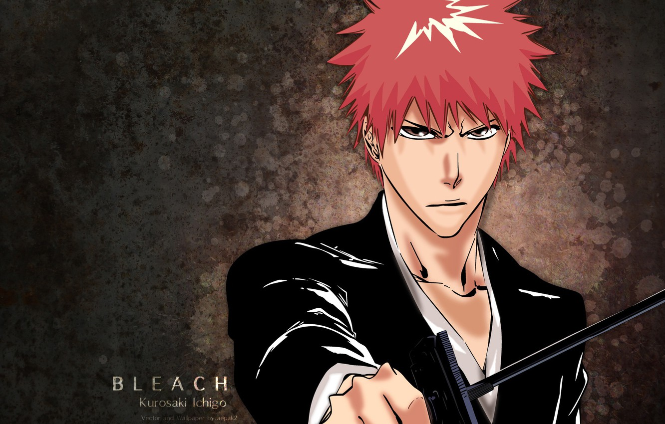 Wallpaper Look Anime Guy Bleach Bleach Ichigo Kurosaki Images