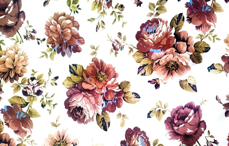 Photo wallpaper background, pattern, texture, fabric, vintage, textiles