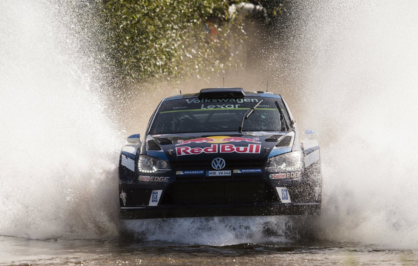 Photo wallpaper Volkswagen, Squirt, WRC, Rally, Polo