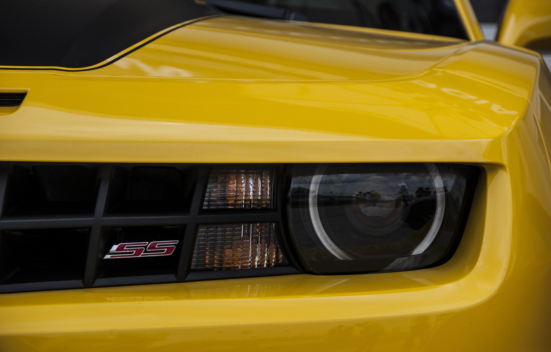 Photo wallpaper Chevrolet, Camaro, Yellow