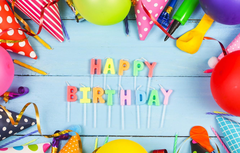 Photo wallpaper holiday, candles, decoration, the celebration, birthday