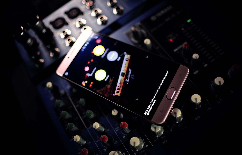 P O Wallpaper Music Panel Sound Mixer Smartphone Highscreen Power Five