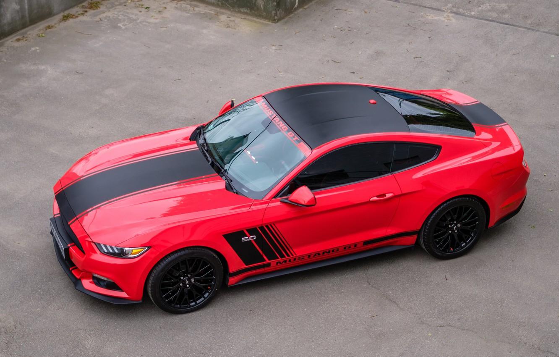 Photo wallpaper car, auto, lights, lights, Mustang, Ford, Mustang, car, Ford, GTR, car, auto, GTR, wheelbarrow