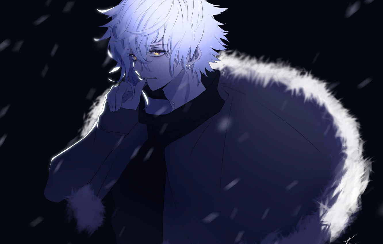 Photo wallpaper night, anime, art, guy, Fate / Grand Order