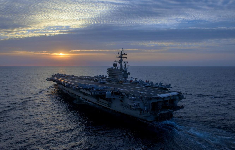 Wallpaper Army Navy Uss Ronald Reagan Images For Desktop