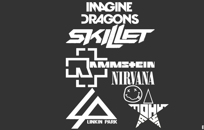 Wallpaper Nirvana Rock Love Rammstein Rock Love Linkin Park