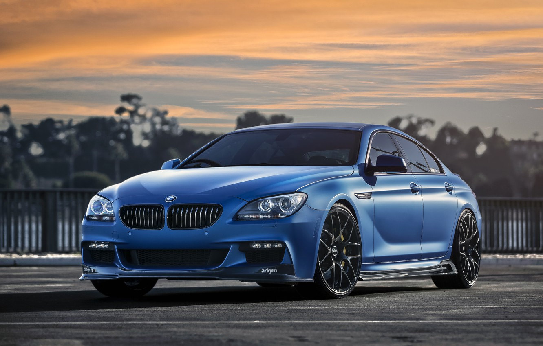 Wallpaper BMW, Blue, Matte, 640i images for desktop ...
