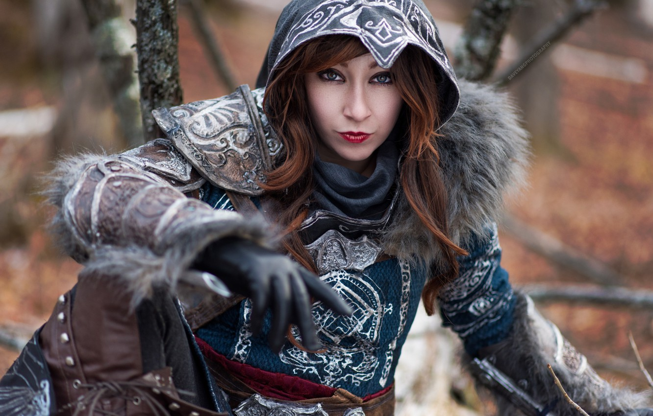 Wallpaper Assassin S Creed Cosplay Female Images For Desktop