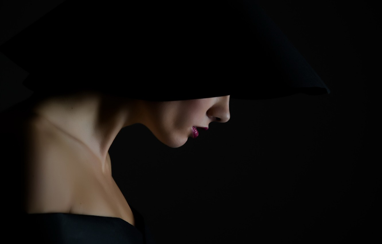 Photo wallpaper girl, background, portrait