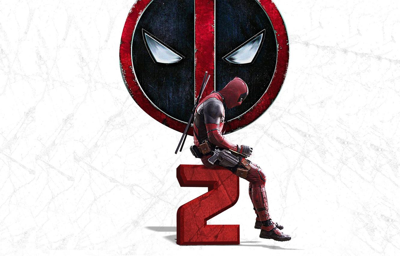 Photo wallpaper weapons, background, guns, logo, mask, costume, gloves, Ryan Reynolds, Ryan Reynolds, swords, poster, Deadpool, katana, …