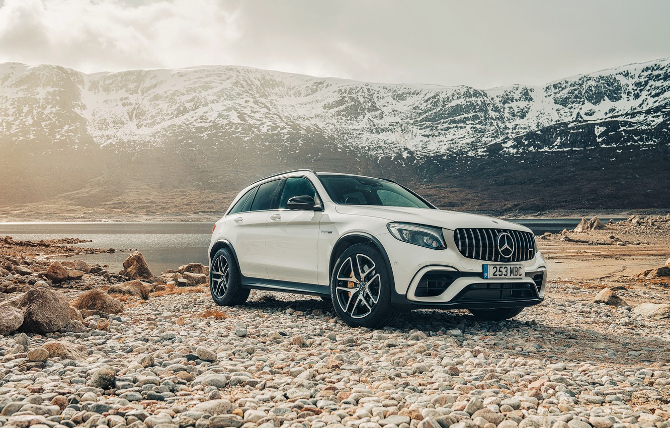 Photo wallpaper Mercedes-Benz, AMG, 2018, crossover, 4MATIC, GLC, 63S