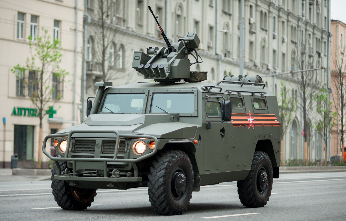 Wallpaper Tiger, armored car, GAS, multi-purpose utility vehicle images for  desktop, section оружие - download