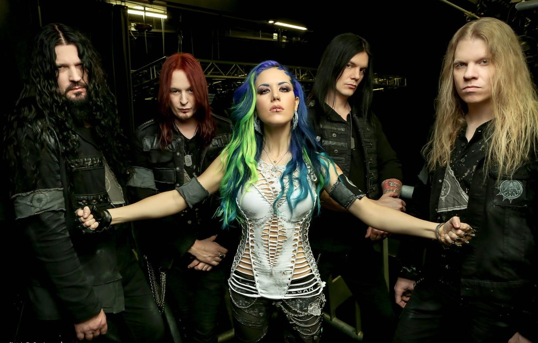 Photo wallpaper Metal, Melodic Death Metal, Arch Enemy, The Swedish group, Alissa White-Eye, Rock Band, Death metal