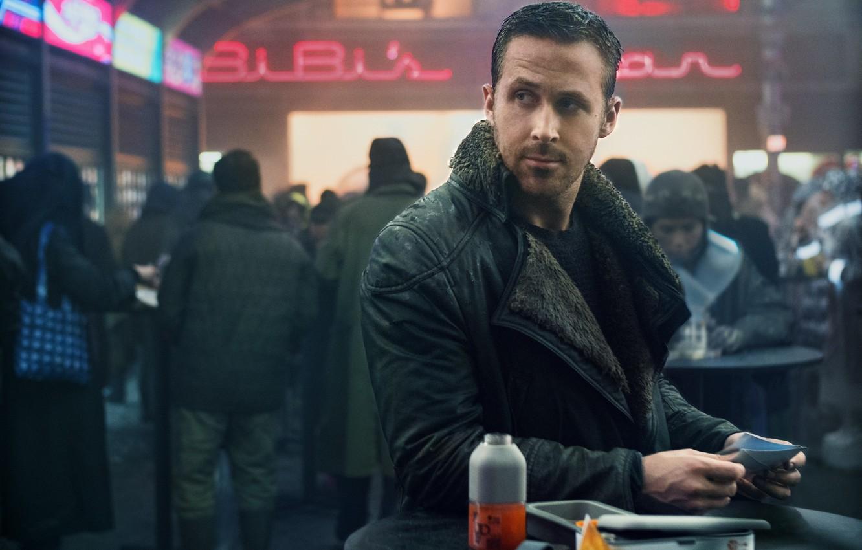 Photo wallpaper cinema, man, movie, film, Ridley Scott, Ryan Gosling, Blade Runner, Blade Runner 2049