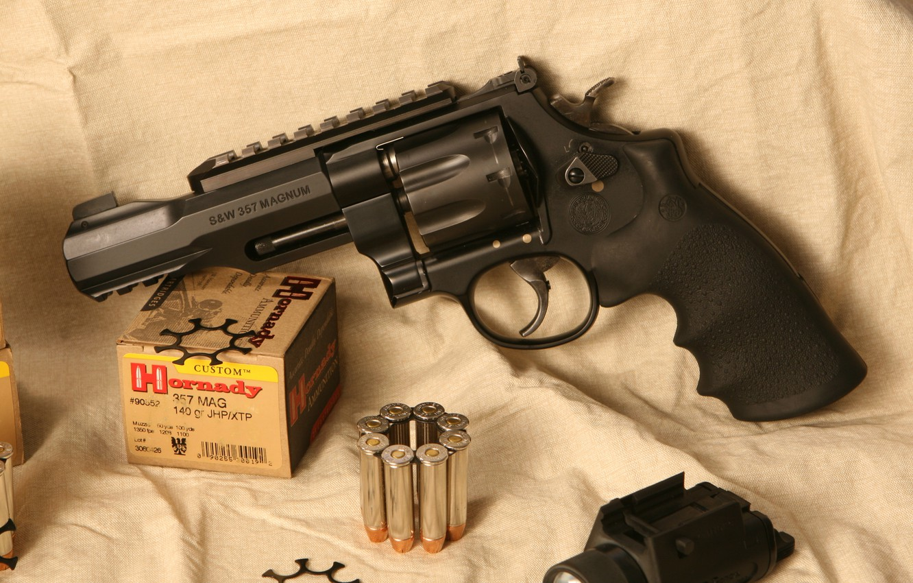 Photo wallpaper weapons, revolver, weapon, smith, revolver, Model 327, 357 Magnum, S&W, m&p, wesson, smith & wesson