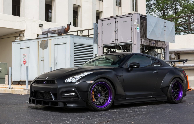 Photo wallpaper GTR, Nissan, Tuning, Bodykit