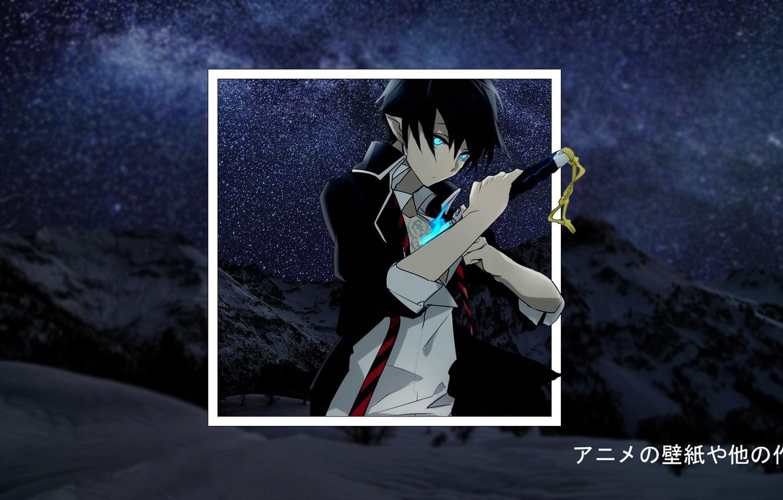 Wallpaper Snow Mountain Anime Anime Blue Exorcist Blue Exorcist