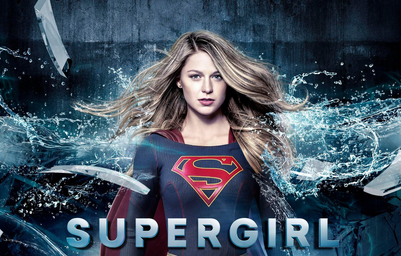 Photo wallpaper red, girl, logo, green eyes, dress, woman, blue, beautiful, singer, blonde, American, actress, DC Comics, …