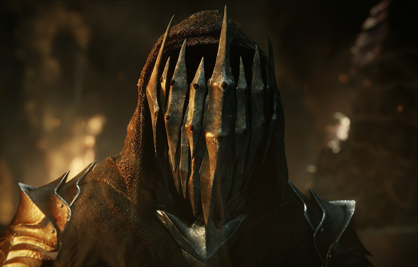 Photo wallpaper game, armor, evil, hood, Middle-earth Shadow Of War