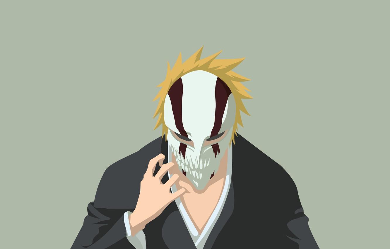 Photo wallpaper mask, Bleach, Ichigo Kurosaki