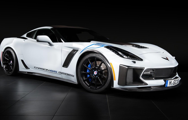 Photo wallpaper Z06, Corvette, Chevrolet, 2018, Geiger, Carbon 65 Edition