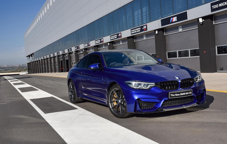 Photo wallpaper BMW, sports car, 2017, BMW M4 CS