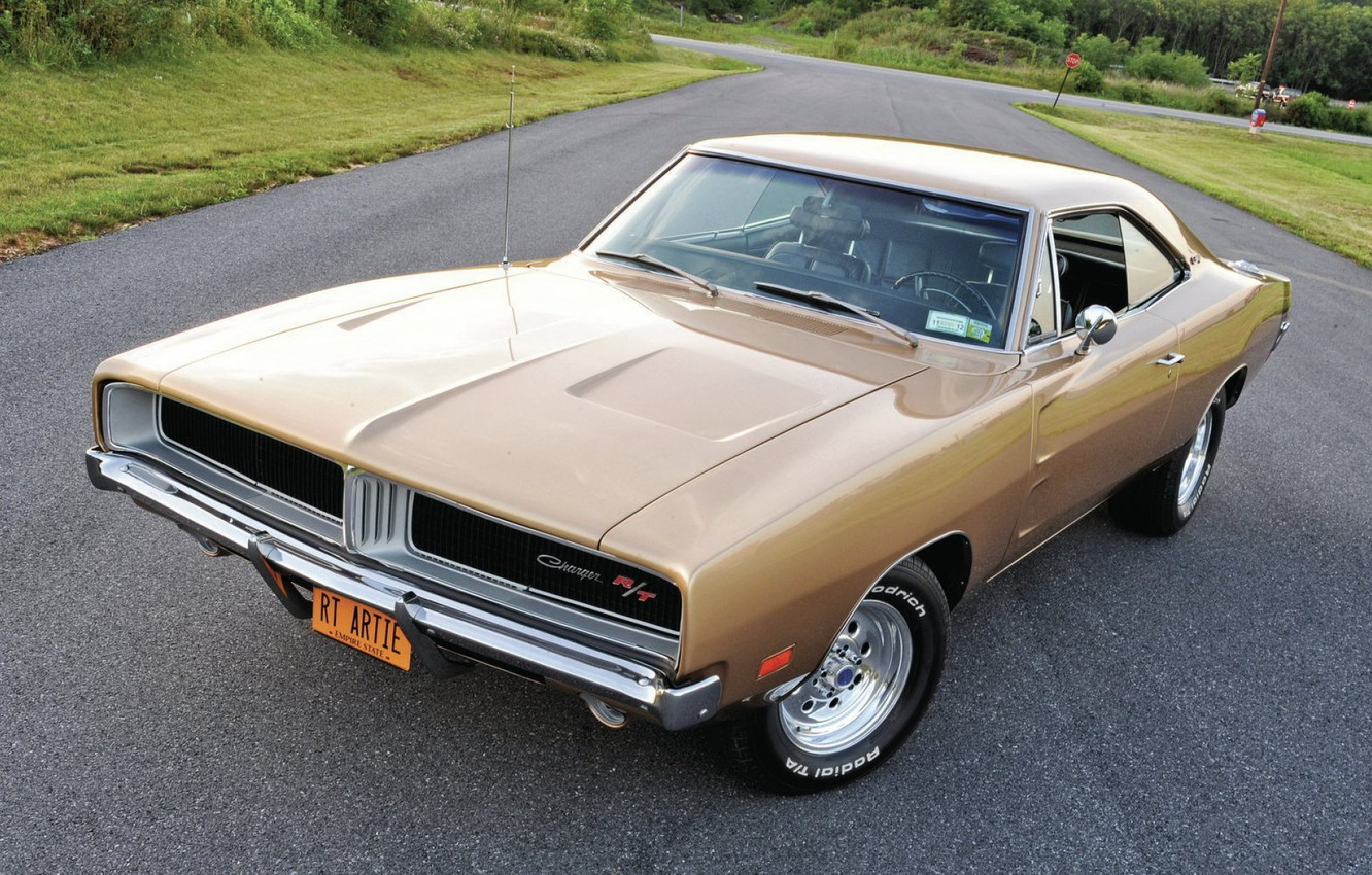 Photo wallpaper 1969, Dodge Charger, Muscle classic, XS29