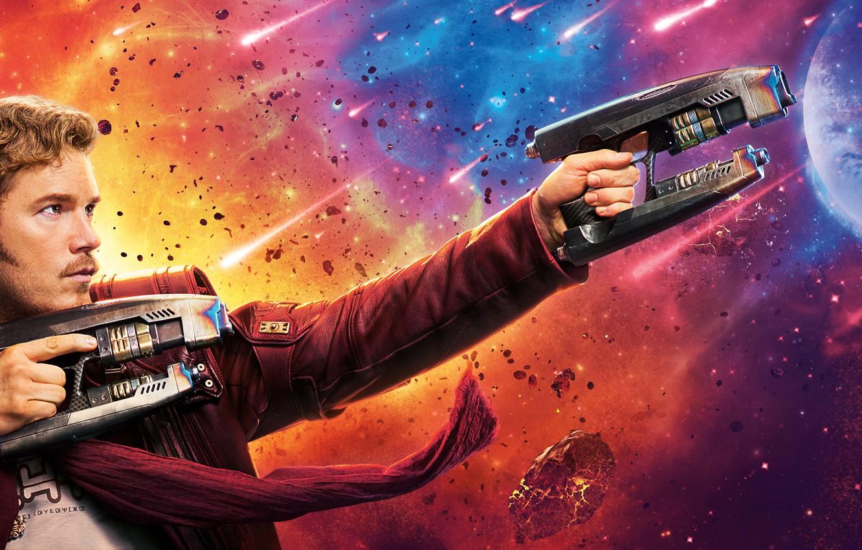 Wallpaper Movie Chris Pratt Star Lord Guardians Of The Galaxy Vol