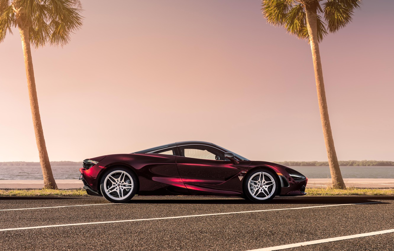 Photo wallpaper McLaren, supercar, side view, 2018, MSO, 720S
